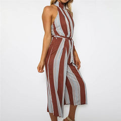 Portugal Sleeveless Jumpsuit