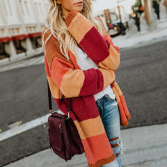 Riverside Color Block Cardigan