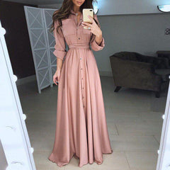 Nove Long Sleeve Maxi Dress