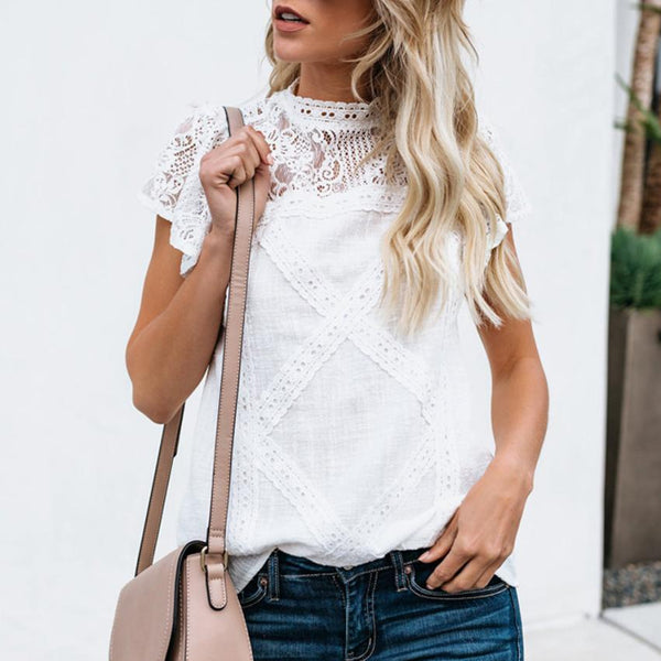 Cardiff Lace Blouse