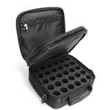 42-Bottle Essential Oil Carrying Case - Black