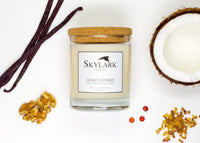 Skylark Candles, Hand poured Soy Candle - Silken Myrrh