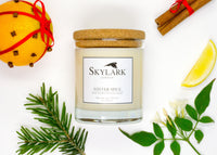 Skylark Candles, Hand poured Soy Candle - Winter Spice