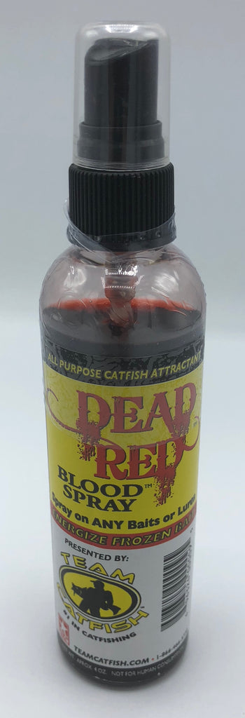 Team Catfish Dead Red Blood Spray | 4 oz.