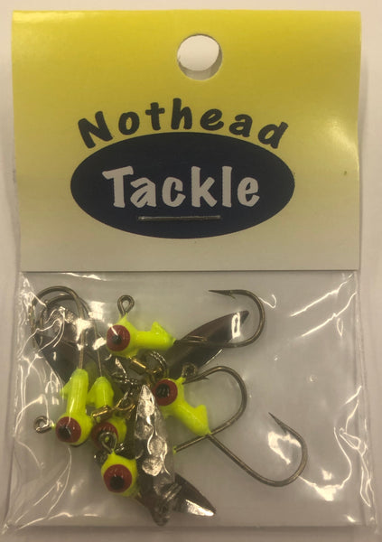 Nothead Tackle | Spinmore Jig Heads w/Barbs