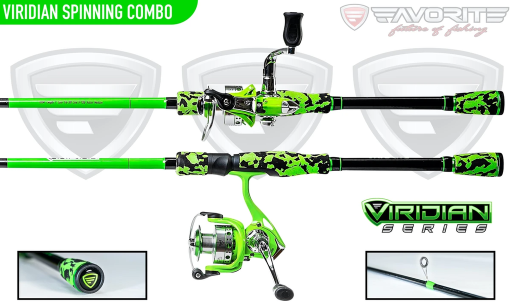 Favorite Fishing Viridian Spinning Combo | 7' | M | 2 pcs.