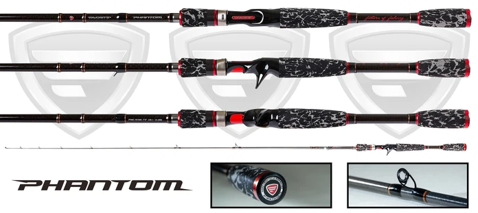 Favorite Fishing Phantom Casting Rods
