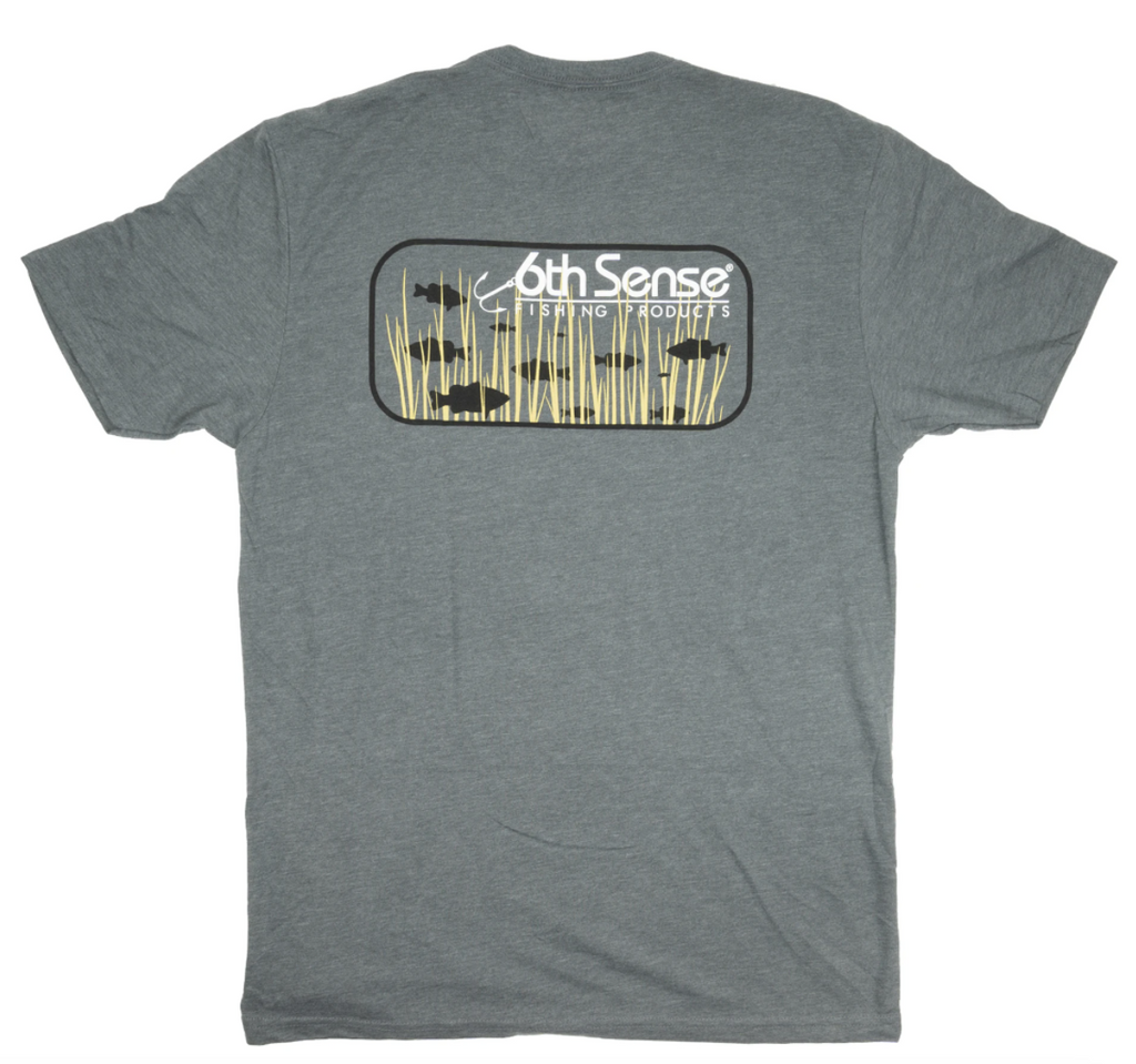 6th Sense Fishing Tee Shirt | Grass Bass