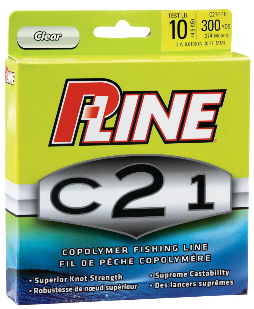 P-Line C21 Copolymer Fishing Line | 300 Yards