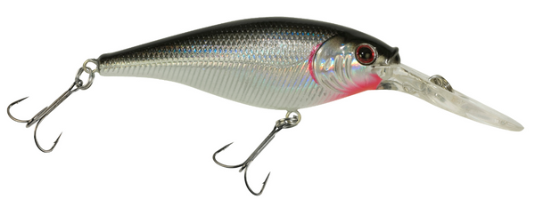 Berkley Flicker Shad | 3/16 oz. | Black Silver