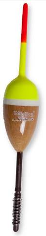 Billy Boy Balsa Spring Unweighted Oval Bobber