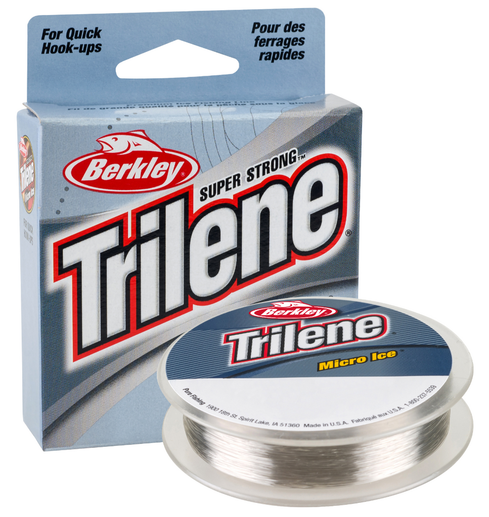 Trilene Micro Ice | Clear Steel | 110 yards