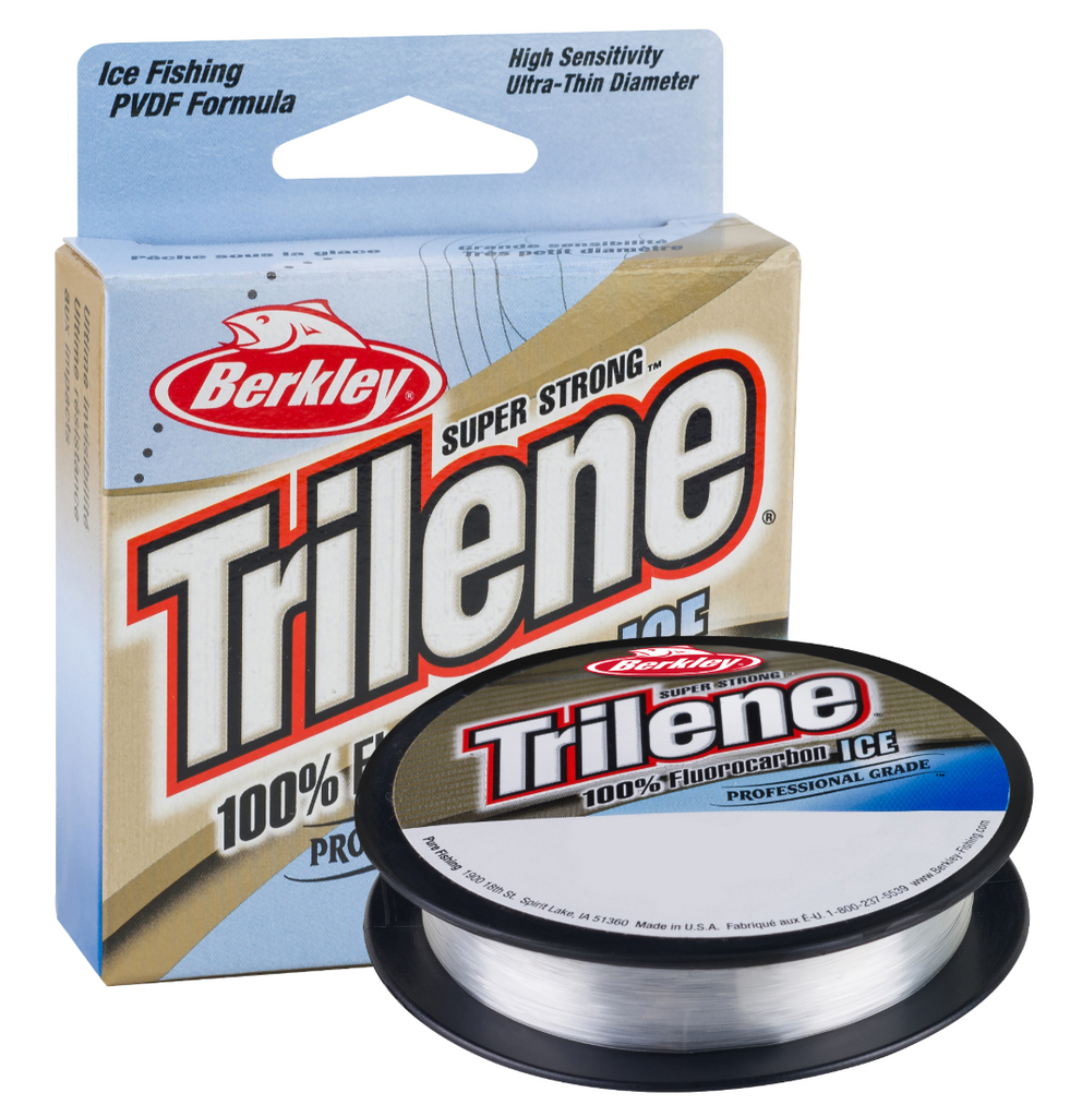 Trilene 100% Fluorocarbon Ice | 75 Yards