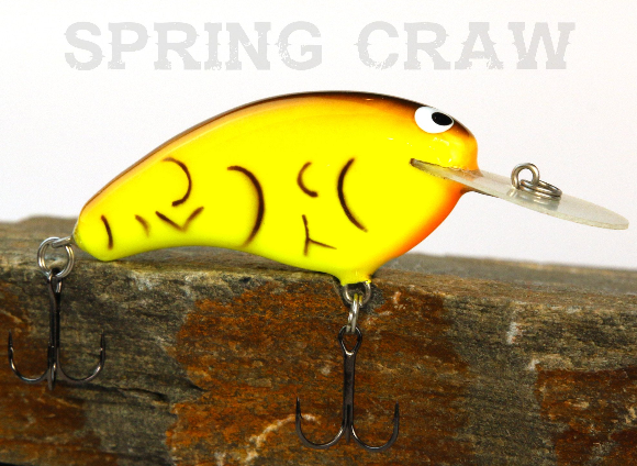 PH Custom Lures Old School Balsa Baits Wesley Strader | W1