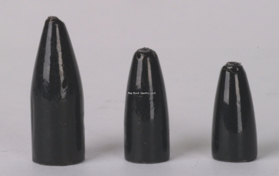 Bullet Weights Worm Weights | Black