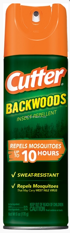Cutter Backwoods Insect Repellent | 6 oz.