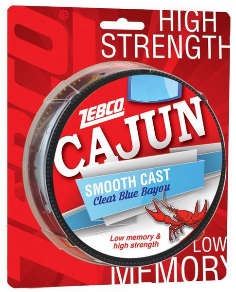 Zebco Cajun Smooth Cast Line | Clear Blue Bayou