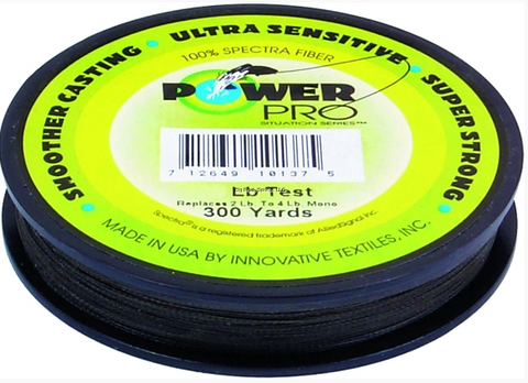 Power Pro Spectra Braided Fishing Line | 300 Yds/ 100 lbs