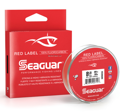 Seaguar Red Label | 100% Fluorocarbon