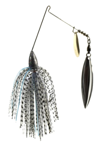 Blue Rock Showstopper Classic Tandem Willow/Colorado Spinnerbait | 3/8 oz.