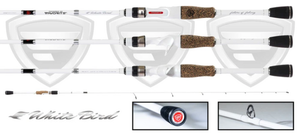 Favorite Fishing White Bird Casting Rod