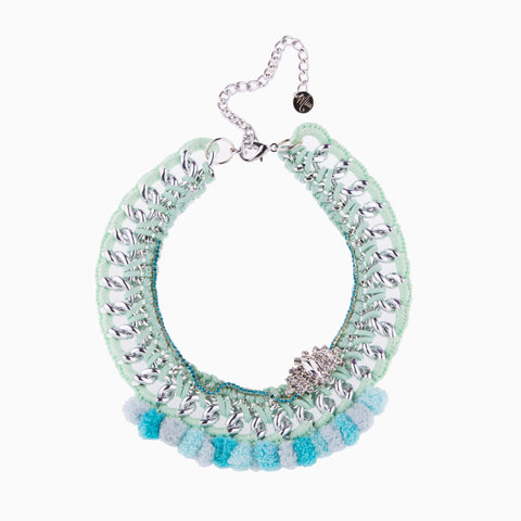 Cotton Candy Mint Necklace