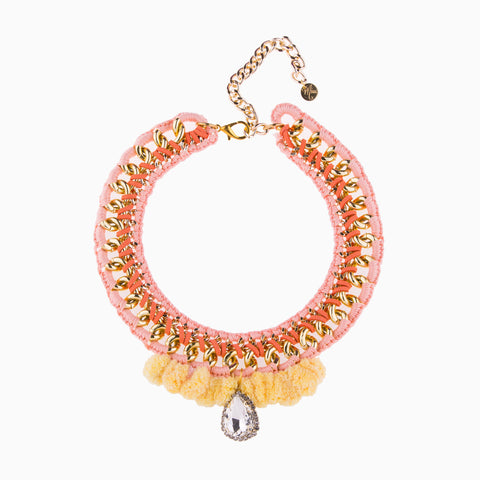 Delicious Pastel Dream Orange Necklace