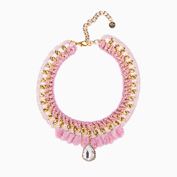 Delicious Pastel Dream Light Pink Necklace