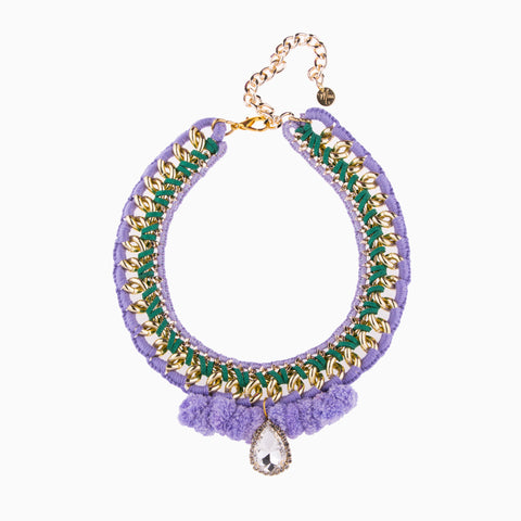 Delicious Pastel Dream Purple Necklace