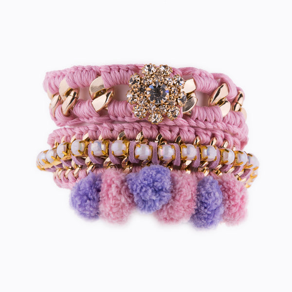 Perfect Sweet Combo Pink Bracelet