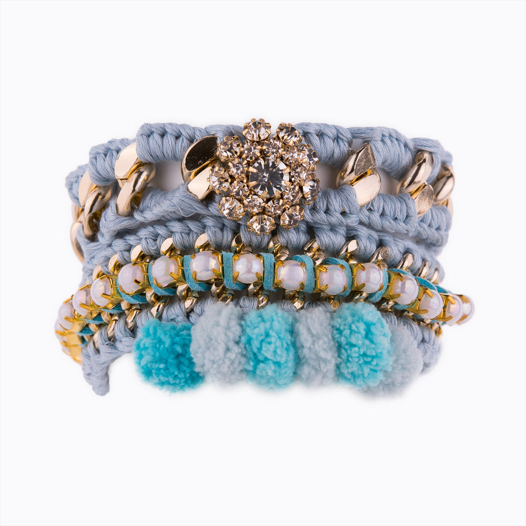 Perfect Sweet Combo Baby Blue Bracelet