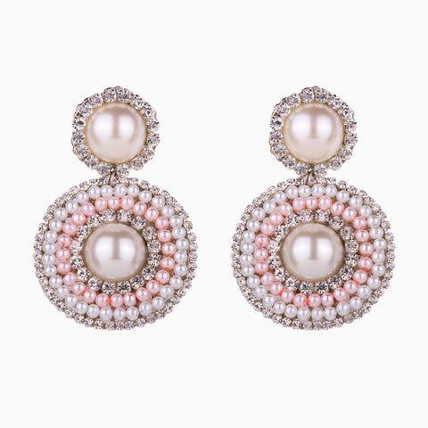 Dusty Pink Romance Earrings