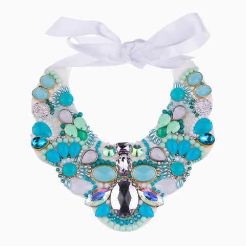 Azure Blue Let It Sparkle Necklace