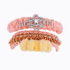 Arm Candy Party Orange Bracelet