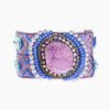 Purple Power Agate Cuff