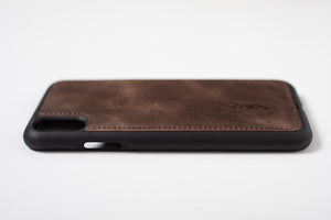 Phone Case - iPhone XS MAX Chocolate Brown
