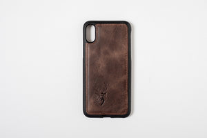 Phone Case - iPhone X Chocolate Brown