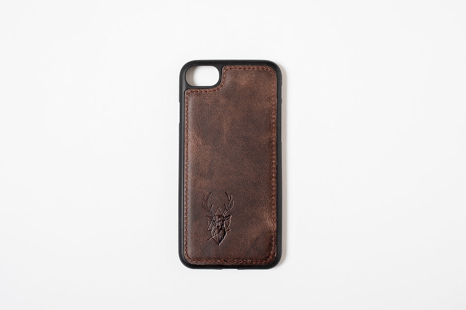 Phone Case - iPhone 7-8-SE 2020 Chocolate Brown