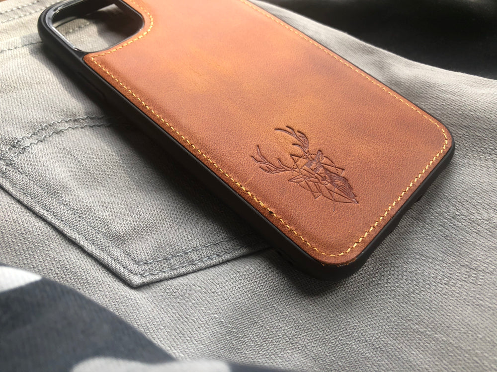 Phone Case - iPhone 11 Pro Max Camel
