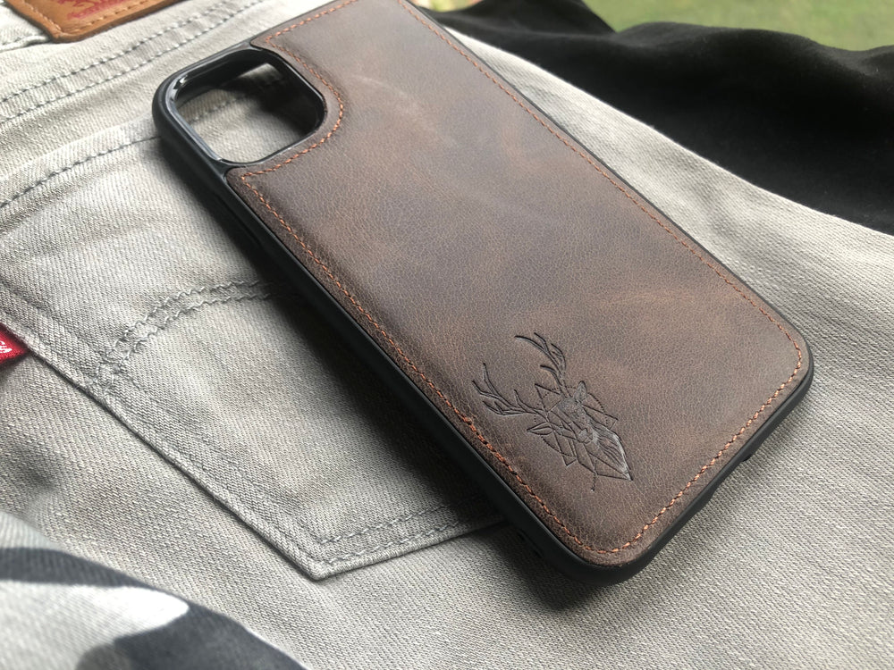 Phone Case - iPhone 11 Chocolate Brown