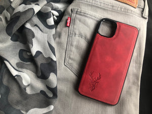 Phone Case - iPhone 11 Pro Max Maple Red