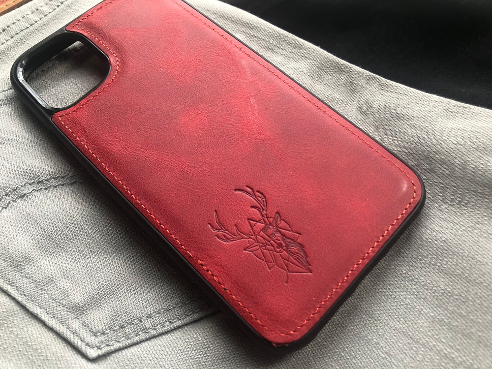 Phone Case - iPhone 12 / 12 Pro Maple Red