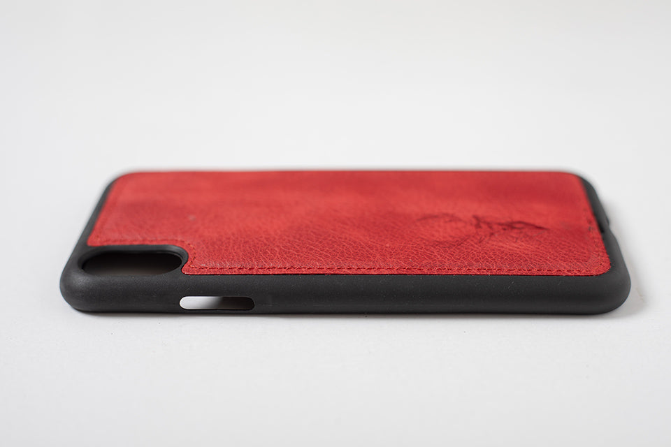 Phone Case - iPhone XS MAX Maple Red