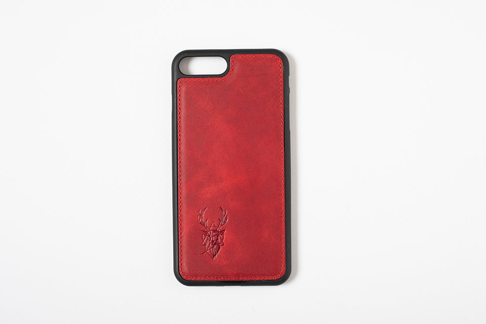 Phone Case - iPhone 7 Plus / 8 Plus - Maple Red