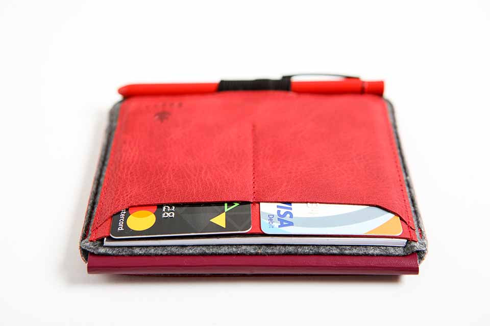 Traveler Pro Organiser - Maple Red