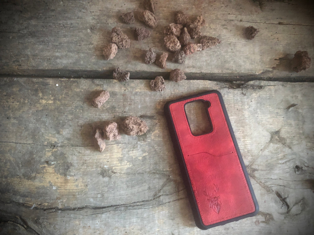 Phone Case - Xiaomi Redmi Note 9 - Maple Red
