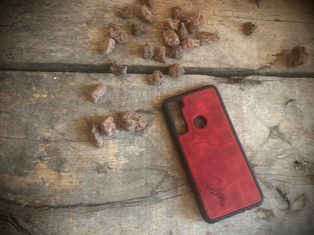 Phone Case - Xiaomi Redmi Note 8 - Maple Red