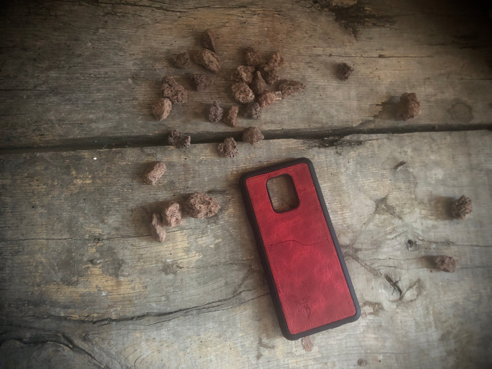 Phone Case - Xiaomi Redmi Note 9 Pro / 9S- Maple Red