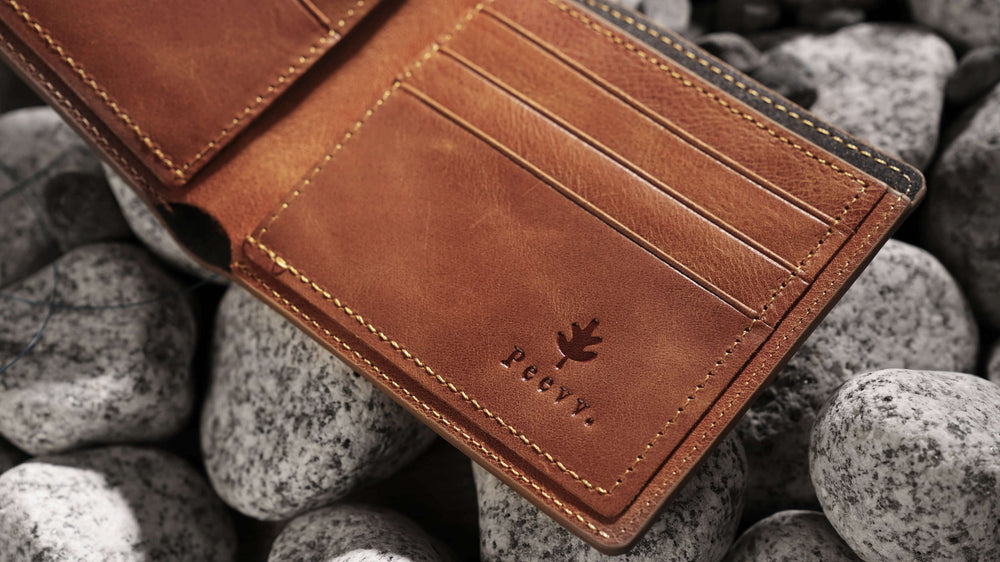 New York Wallet - Camel
