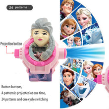 24 Images 3D Projection Watch - Frozen and Hello Kitty
